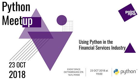 Python meetup by Point Nine / Митап / Минск, Беларусь / 23